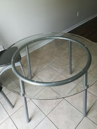 Great condition glass table