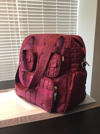 Pink Lug bag - used 1 year - great condition  Toronto, M2M 4H9