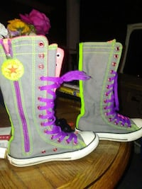 SIZE 13gray-and-purple Converse high top allstar Kansas City, 64123