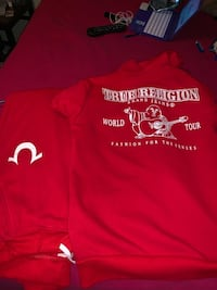 True religion size large fits like medium