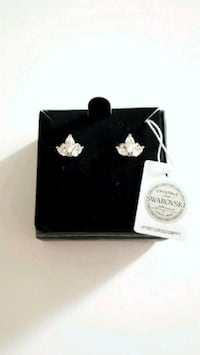 Nic and Syd Swarovski Crystal Earrings Toronto, M6H 3Y3
