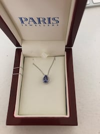 Tanzanite and diamond necklace  Calgary, T2M 2B1