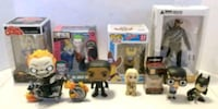 Lot of 10 Funko Pop & DC Comics Figures