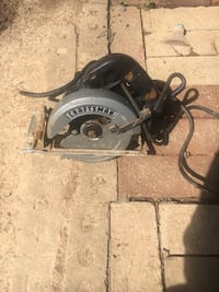 Craftsman Electric circular saw(blade not included). Clarksville, 37042