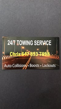 Flat Rate Towing Services 24/7 Vaughan