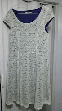 White dress size M from Rickis Toronto, M1B 3V9