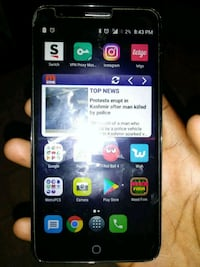 black acatel ferious 4 android smartphone Baton Rouge, 70812