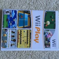 Wii Play game great condition Hampton
