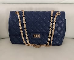 Blue bag(inspired by chanel )
