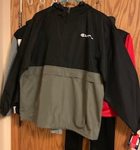 Brand new never worn Champion windbreaker size large  Maplewood, 55119