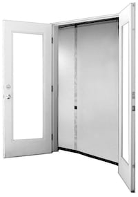 """72"""" x 80"""" Screen - Reversible, Fits French & Sliding Glass Doors"""