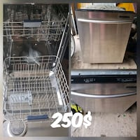 stainless steel and black toaster oven Montréal, H4B 1Z7