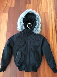 Youth XS down-filled bomber jacket Woolwich, N0B