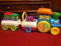 Fisher-Price Laugh & Learn First Words Crawl-Along Train Holbrook, 11741