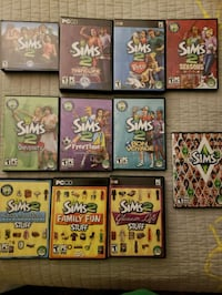 Sims 2 + Expansions & Sims 3 PC Fishers, 46038