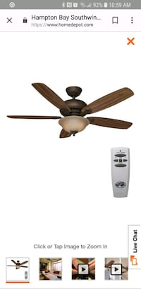Ceiling fan with remote Long Beach, 90806