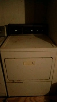 white front-load clothes dryer Jamestown, 27282
