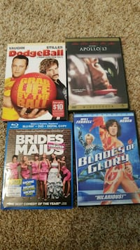 Misc movies each  Fredericksburg, 22407