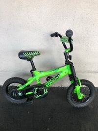 toddler's green and black bicycle Brea, 92821