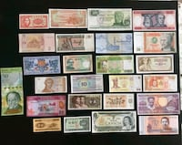 Collection of World Notes - 6 continents Calgary, T2R 0S8