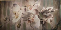 White and brown floral canvas painting   Washington, 20001