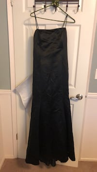 Black and white spaghetti strap prom, Evening or bridesmaid dress Vancouver, 98682