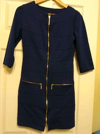 GUC dress dark blue color S, 3/4 sleeve Burnaby, V5E 4G5