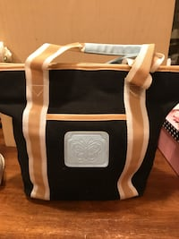 Cute Black With Tan Trim Canvas Purse  Gainesville, 20155