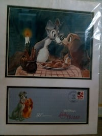 two Walt Disney's Lady and the Tramp poster Visalia, 93291
