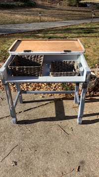 Upcycled sabby chic desk