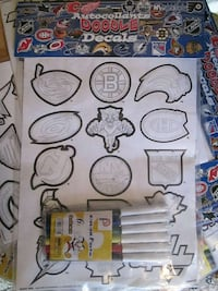 NHL Official DOODLE STICKERS