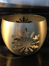 Snowflake candle holder Milton, L9T 7S2