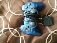 blue and white Sony PS3 game controllers Temple Hills, 20748