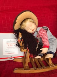 Ashton-Drake Doll-Asleep in the Saddle Middletown, 21769