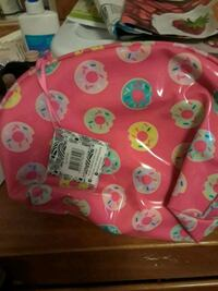 pink and white floral print purse Seattle, 98115
