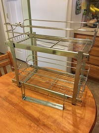 Stainless sliding cabinet storage Taneytown, 21787