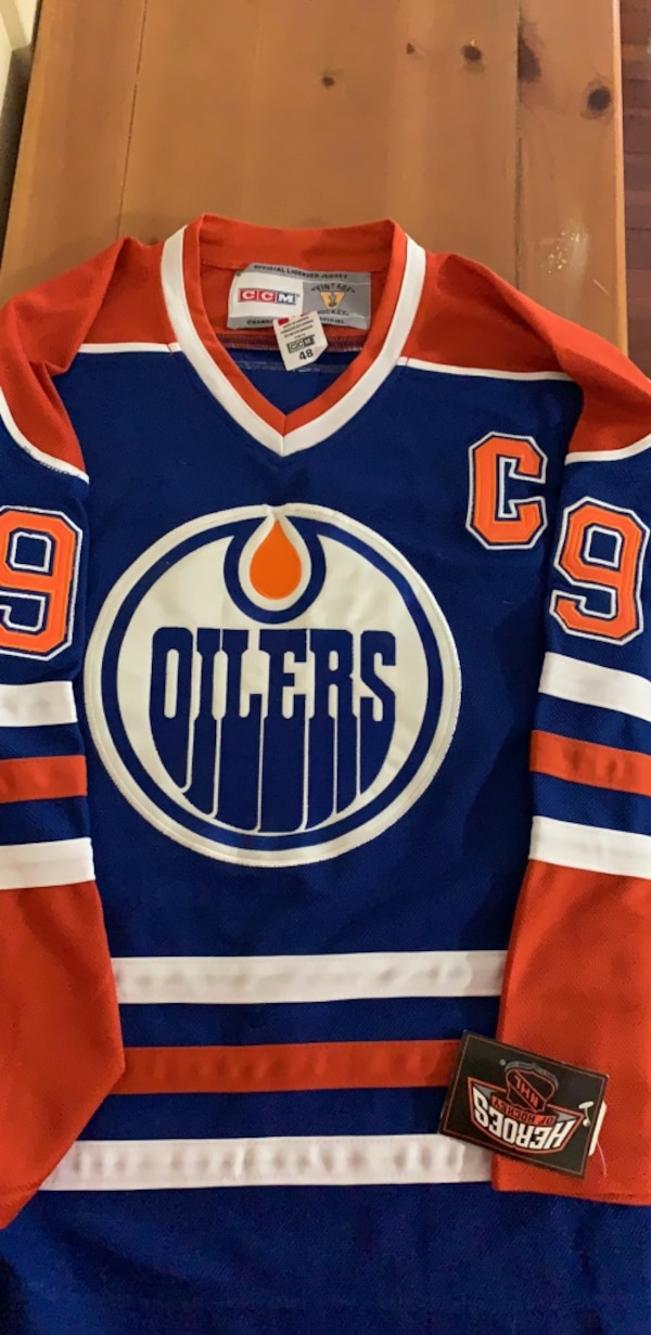 more photos f22cd ca913 NHL - Edmonton Oilers Jersey - medium