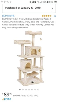 Brand new 3 layer cat tower Modesto, 95355