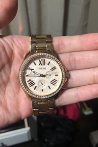Fossil Rose Gold Watch. Price negotiable! Jessup, 20794