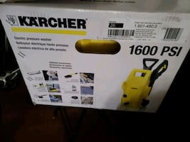 Karcher k2 Plus 1600 psi, 4.7LPM electronic pressure washer