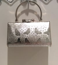 Classy Silver Party Purse/  Big enough for your lipstick, cell phone & keys! Richmond, V6X
