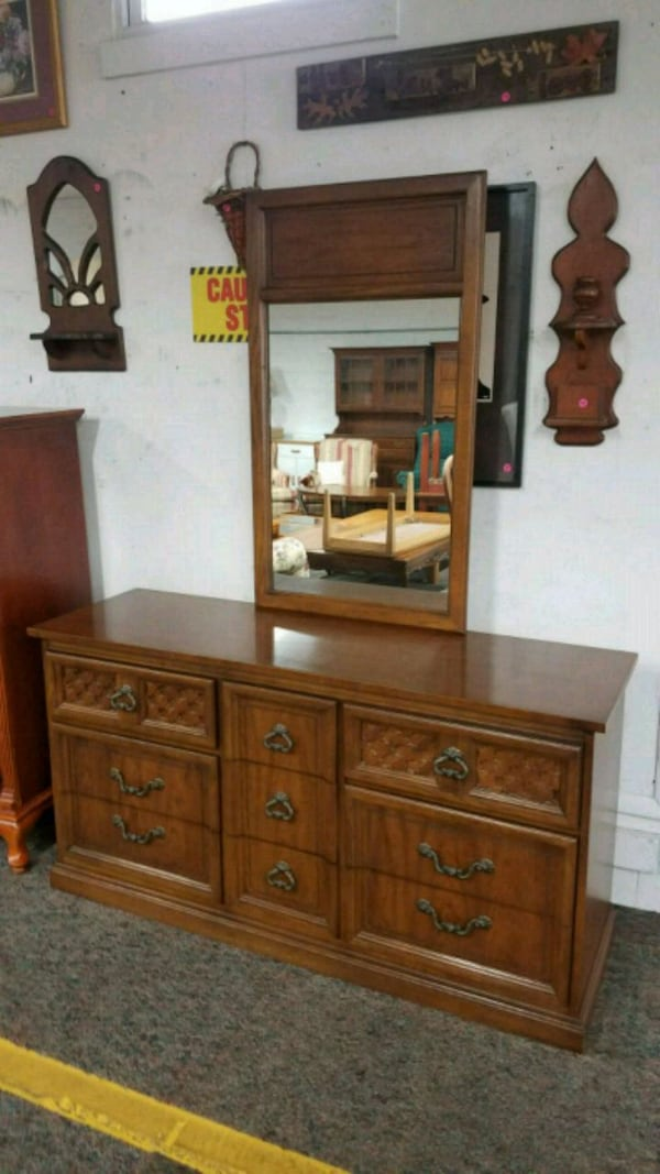 Sold Dixie Dresser With 9 Drawers And