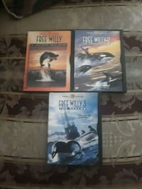four assorted DVD movie cases Riverview