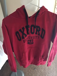red and black pullover hoodie Durham, 27705