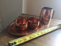Copper coffee set Vintage great useable condition  Courtice, L1E 0H5