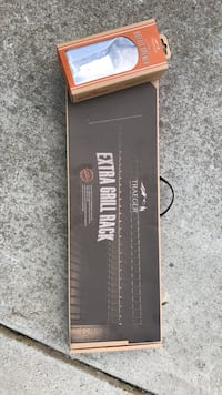 Traeger extra grill rack, and bottle opener