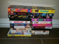 LOT of VHS MOVIES