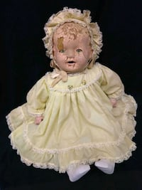 Antique1900s Composition Cloth Large Baby Doll  Port St. Lucie, 34953