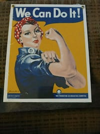 Rosie the Riveter Sign
