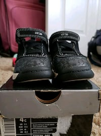 pair of black Air Jordan basketball shoes Lakewood